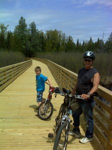 Boardwalk over Mud Creek